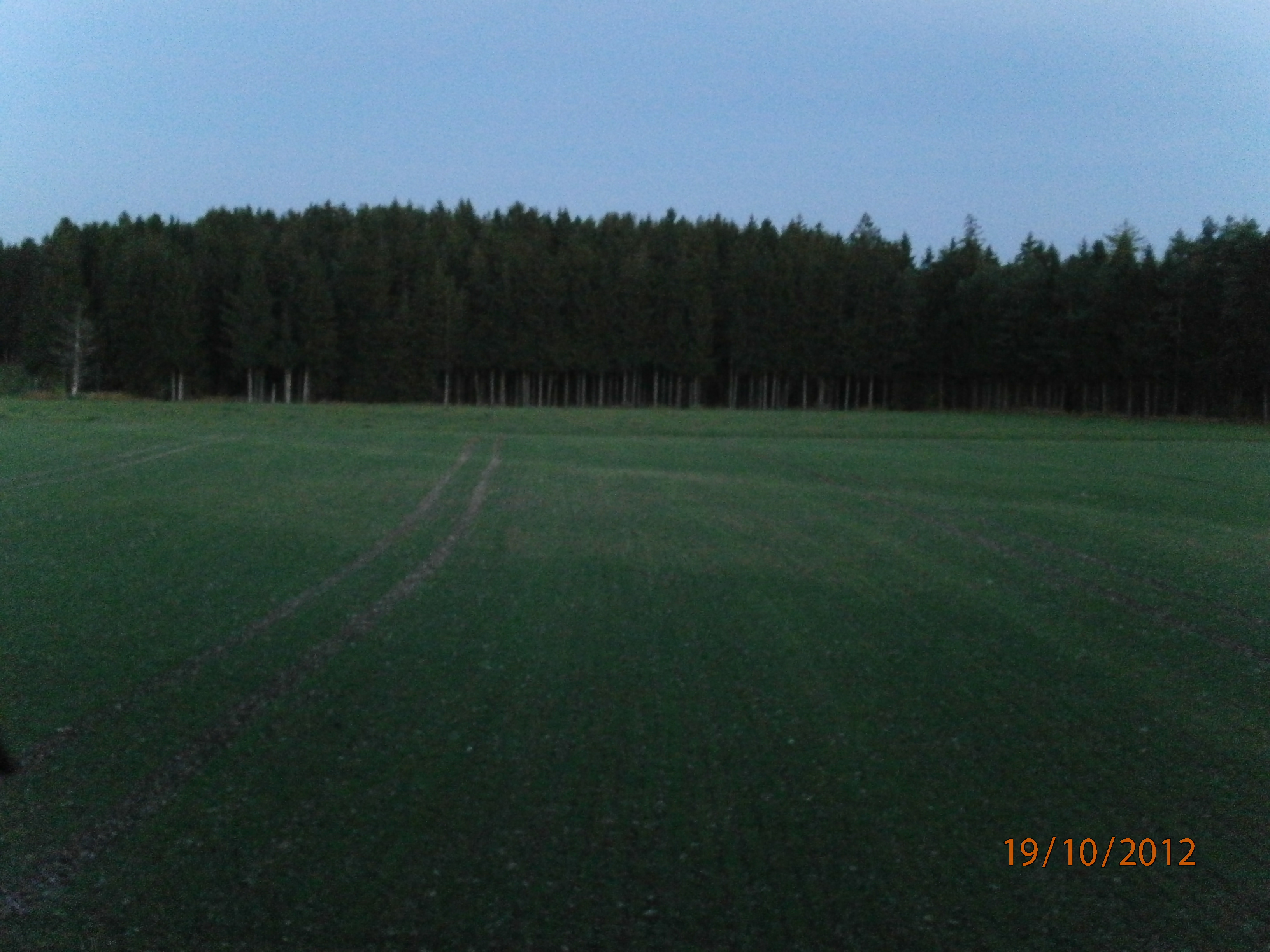 crop circle between Frieding and Andechs